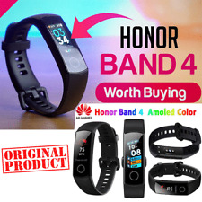 Huawei Honor Band 4 Wristband Amoled Color Touchscreen Bluetooth Heart Rate New