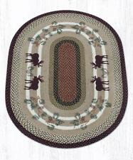 OP-19 Moose/Pinecone Oval Patch 4'x6'