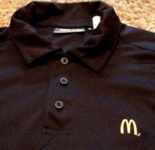 Men's McDonald's McDonalds Fast Food Polo Shirt Golden Arch Size Medium