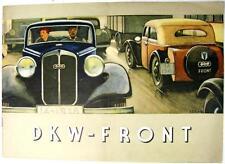 DKW-FRONT Original Car Sales Brochure 1936 #D 1994 d (8366) holland Dutch