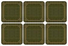 Pimpernel Shagreen Leather Coasters, Set of 6 (2010268724)