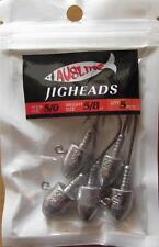 10  Size 5/0,  5/8 OZ  Jig Heads  High Chemically Sharpened Hooks Fishing Tackle
