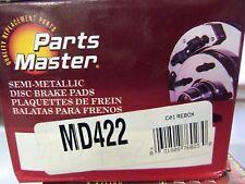 Disc Brake Pad Semi-Metallic Parts Master MD422 fits 89-96 Nissan 240SX