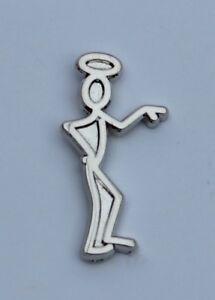 Southampton F.C. Chrome Stickman Quality Pin Badge