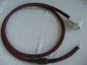 Fig 8 C7 mains power cable - Audiophile quality 1.5M Lead/Cord
