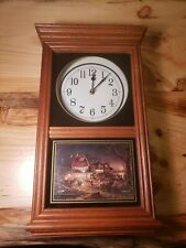 Terry Redlin The Hadley Collection Regulator Clock Dance Tonight