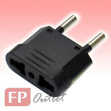 EU 2-Round pin Type C Universal Multiple AC Travel Power Plug Adapter Converter