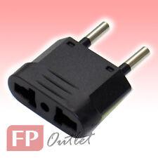 EU 2-Round pin Type C Universal Multiple AC Travel Power Plug Adapter Converter