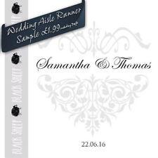 Wedding Aisle Runner Sample-Majestic
