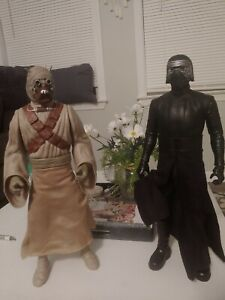STAR WARS ACTION FIGURES, 18 Inch Tusker Rider And Kylo Ren Star Wars Figures