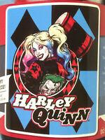 Harley Quinn BatMan Joker DC Comics fleece blanket  throw