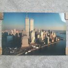 OVER AND ABOVE TWIN TOWERS WTC POSTER 24x36 NEW YORK CITY SKYLINE 36023