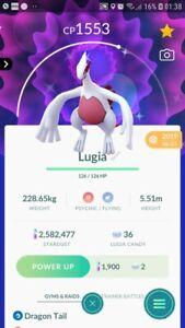 Shiny Lugia Trading Pokemon GO