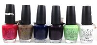 DISCONTINUED OPI Nail Lacquer - Matte Colors - Pick Any Shade 0.5oz