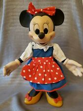 "Anri 13"" 14"" Disney Minnie Mouse Handcarved #525/2500 Poseable Doll Rare Vintage"