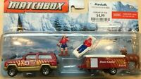 Matchbox Hitch & Haul - Vacation Day - Jeep Cherokee & Pop Up Camper