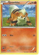 POKEMON XY BREAK-POINT CARD - GROWLITHE 10/122