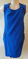 Veronika Maine blue dress size 6 sleeveless