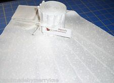 """Floral Swirl Prints White Jelly Roll Cotton Fabric 10 pieces of 2-1/2"""" Strips"""