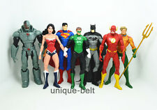 Lot 7 pcs DC Universe Justice League Batman Flash Superman action Figures