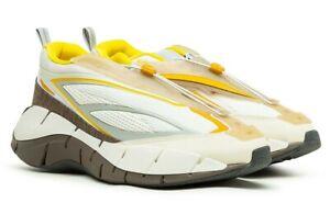 Reebok Zig 3D Storm Hydro Cottweiler Alabaster Beige Men Running Sneakers G55691