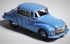 H0 BREKINA Personenkraftwagen Auto Union 1000 S Limousine pastellblau # 28019