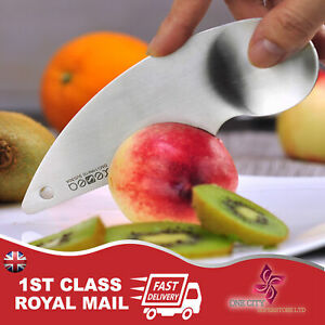 UK Stainless Steel Kiwi 2in1 Easy Peelers Cutter Knifes Fruit Pulp Spoon Kitchen