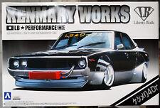 Nissan Skyline Ken & Mary 4dr Kenmary works  LB works 1:24 JDM Aoshima 09826 #03