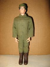 """1964 GI Joe Vintage Hasbro 12"""" Black Soft Painted Head Soldier Figure"""