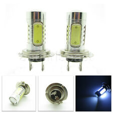 2 x H7 7.5W High Power COB White LED Fog Light Car Head Lamp DRL Runing Bulb