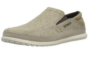 NEW Crocs Mens Santa Cruz Convertible SlipOn Size 8 DUAL COMFORT LOAFER