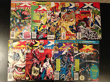 X-FACTOR COMIC LOT 10 ISSUES MARVEL COMICS 85 86 88 89 93 95 96 98  ANNUAL  7 8