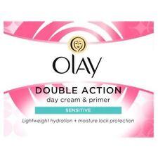 Olay Doble Acción Hidratante Día Crema sensible y Cuidado Imprimación Clásico 50 Ml