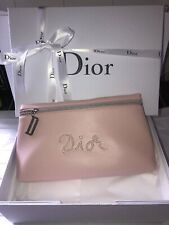 Christian Dior Pink  Clutch Makeup Bag Brand New Boxed