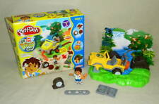 Play-Doh Go Diego Go Rain Forest Road Rescue Playset Playskool (8pcs) COMPLETE