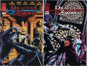 Image - Dracula Vs Zorro 1-2 Mini Series 1998 McGregor, Yeates