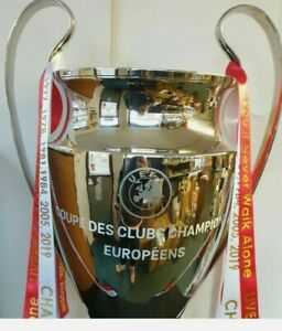 "Champion League Replica 1:1 Scale Full Size Metal Trophy 32"" High (81 cms)"