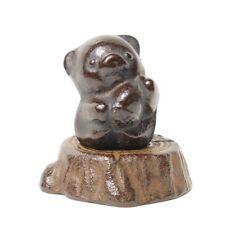 Cute Bear Kuma Bunchin Japanese Nanbu cast iron paper weight ornament