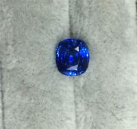 TOP QUALITY AAAAA+ LOOSE GEMSTONE UNHEATED ROYAL BLUE SAPPHIRE 5mm CUSHION CUT