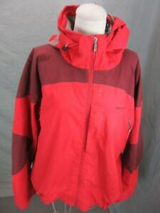 Patagonia Size XL Mens Red Athletic Full Zip Hooded Snowboard Ski Jacket T511