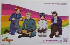 """NEW  2014 Anime Expo Exclusive HETALIA Double-Sided Promotional Poster 17"""" x 11"""""""