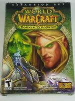 Blizzard World Of Warcraft Expansion Set The Burning Crusade 2007 PC