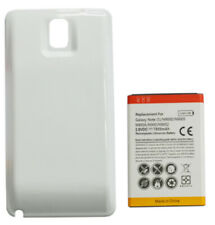 7800mAh Extended Capacity Battery + Cover For Samsung Galaxy Note 3 - White