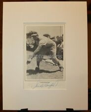 Vintage 1984 Sandy Koufax Signed Book Page Custom Matted JSA Auth