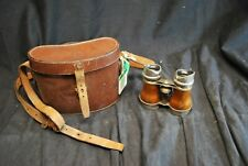 Vintage Ross Of London Binoculars With Case -A17