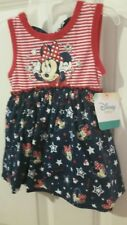 Baby Girl Minnie Mouse Sleeveless Kids Cute  Dress 0 - 3 MONTHS  TWINS CLOTHING