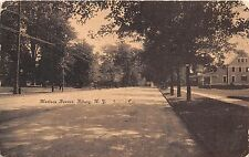 ALBANY NEW YORK MADISON AVENUE VIEW POSTCARD 1910 *DAMAGED*