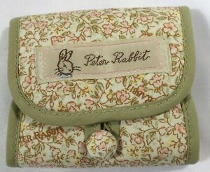 JHB International Beatrix Potter Peter Rabbit Green Fabric Sewing Mending Kit