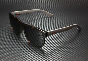 GUCCI GG0010S 003 Rectangular Square Havana Grey 58 mm Men's Sunglasses