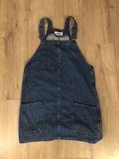Denim New Look Dungarees Dress - Size 10UK - Womens